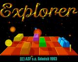 Explorer Amiga Title screen
