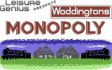 Waddingtons Deluxe Monopoly Commodore 64 Loading Screen.