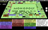 Waddingtons Deluxe Monopoly Commodore 64 The owners list.