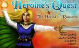 Heroine's Quest: The Herald of Ragnarok Windows Title screen