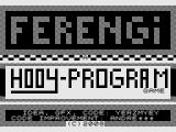 Ferengi ZX81 Title screen