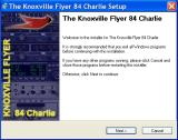 Greatest Airplanes: Cardinal! Windows Installer title: 'The Knoxville Flyer 84 Charlie'. The bird is a Cardinal.
