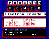 Electron Invaders Electron Loading screen