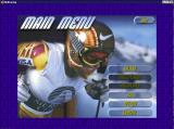 Front Page Sports: Ski Racing Windows Menu screen.
