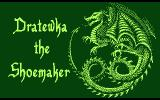 Dratewka the Shoemaker Atari 8-bit Title screen