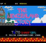 The New Zealand Story Sharp X68000 Another title screen