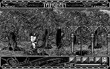 Targhan Atari ST In-game (Monochrome monitor)