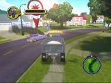 The Simpsons: Hit & Run GameCube Use the Plow King to smash up Smithers' Car