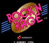 Rock'n Rage Arcade Title Screen.