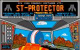 "Protector Atari ST Title screen: the Atari ST version is named ""ST-Protector"""