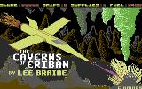 Caverns of Eriban Commodore 64 Title Screen.