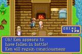 Shining Force: Resurrection of the Dark Dragon Game Boy Advance Old man is priest
