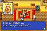 Shining Force: Resurrection of the Dark Dragon Game Boy Advance King Alterone