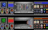 Bloodwych Atari ST Two player simultaneous play with split-screen
