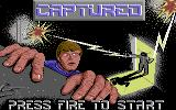 Captured Commodore 64 Title Screen.