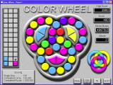 Color Wheel Windows The start of a game. The pattern to be completed is in the lower right