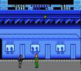 Total Recall NES The subway