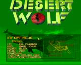 Desert Wolf Amiga Gamepeadia - fighter
