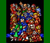 Mega Man: The Wily Wars Genesis Most Mega Man villains and characters in a single picture