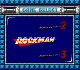 Mega Man: The Wily Wars Genesis Game select screen (Japanese version)