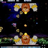 Parodius Sharp X68000 Damn clowns and their bubbles