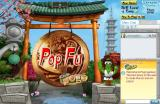 Pop Fu Browser Title screen.