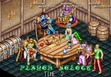 Dungeon Magic Arcade Player select
