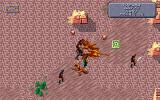 Dark Sun: Shattered Lands DOS Fighting wyverns and bandits at once! This green icon is spell placement - for monster summoning, in this case