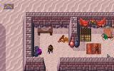 Dark Sun: Shattered Lands DOS Note the NPC routines and nice animations in one of the villages