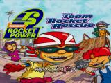 Rocket Power: Team Rocket Rescue PlayStation Title screen.