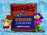 Rocket Power: Team Rocket Rescue PlayStation Main menu.
