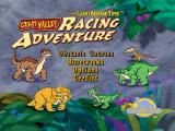 The Land Before Time: Great Valley Racing Adventure PlayStation Title screen.