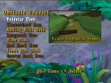 The Land Before Time: Great Valley Racing Adventure PlayStation Obstacle courses mode.
