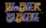 Black Magic Commodore 64 Title Screen.