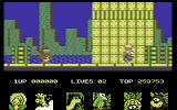 Big Nose's American Adventure Commodore 64 Lets rescue the animals.