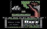 Biff Commodore 64 Title Screen.