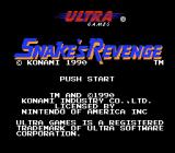 Snake's Revenge NES Title Screen
