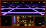 Solar Star Atari 8-bit Left window shows the objects, right window shows the map.