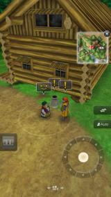 Dragon Quest VIII: Journey of the Cursed King iPhone NPCs and objects can be interacted with by selecting them on the screen.