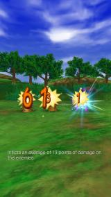 Dragon Quest VIII: Journey of the Cursed King iPhone Attack sequence.