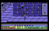 Arcana Commodore 64 Exploring the corridors.