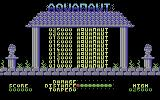 Aquanaut Commodore 64 Title Screen.