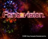 FantaVision PlayStation 2 The game's title screen. The background changes in a series of bursts of fireworks