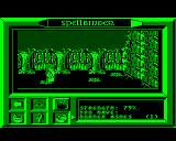 Spellbinder BBC Micro Showing current strength + inventory