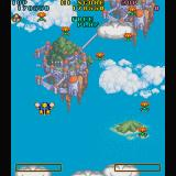 Detana!! TwinBee Sharp X68000 Stage 3: Fortress in the Sky