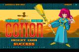 Fantastic Night Dreams: Cotton Sharp X68000 Title screen A