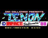 Zenon BBC Micro Loading screen