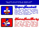 Strike Zone Baseball Arcade Game Options.