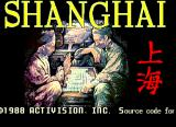 Shanghai Arcade Title Screen.