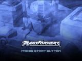 TransFormers PlayStation 2 Title Screen
